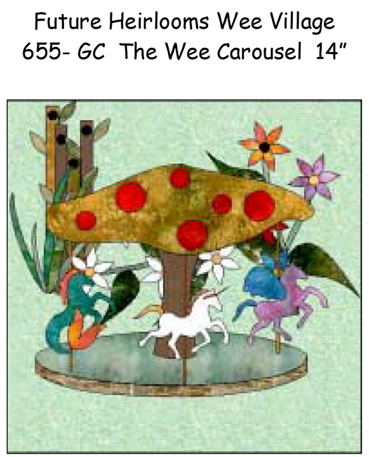 655-CAR The Wee Carousel