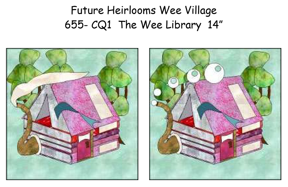 The Wee Village - The Wee Library