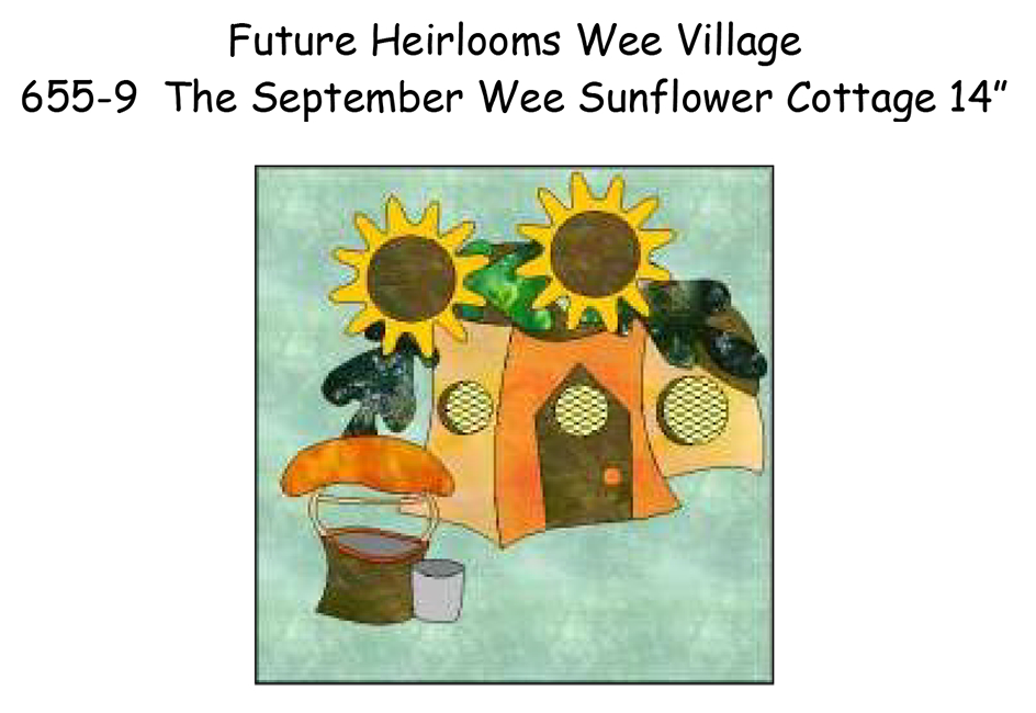 655-9 The Wee Sunflower House