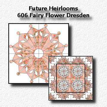 606 Fairy Flower Dresden