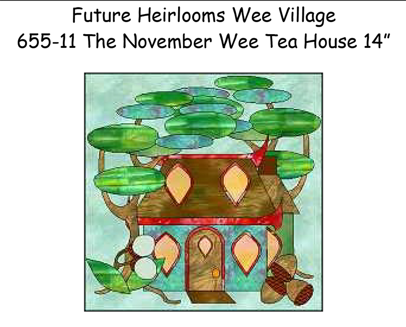 655-11 The November Wee Tea House
