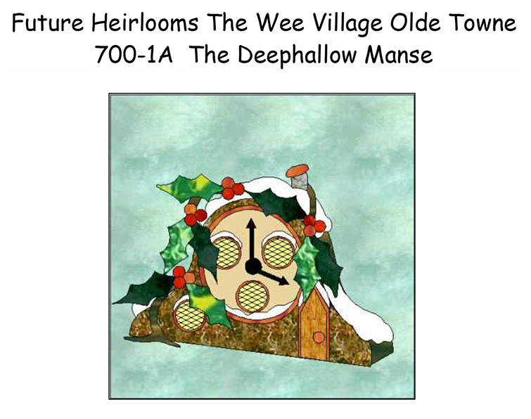 700-1A The Wee Village Olde Towne Deephallow Manse