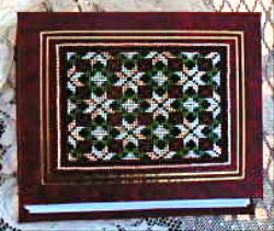 Star Flower Bead Quilt