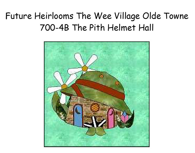700-4B The Pith Helmet Hall