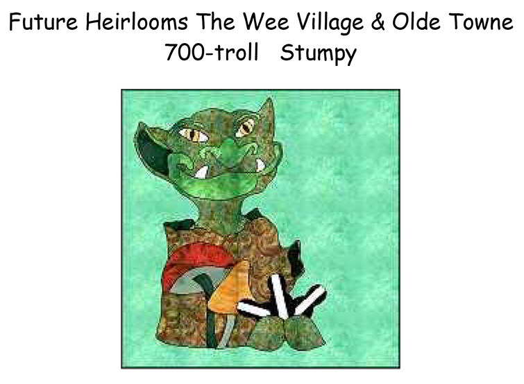 700-9A Troll Stumpy!