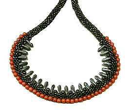 Coral Reef short necklace