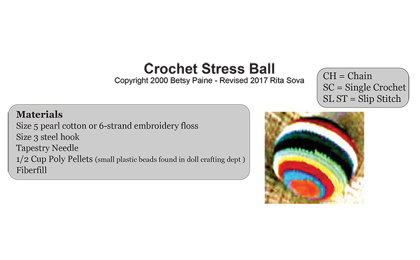 Crochet Stress Ball
