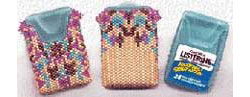 Listerine Breath Freshener Beaded Cover