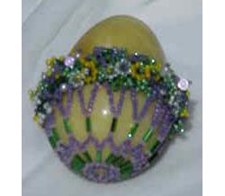 Floral Basket Egg