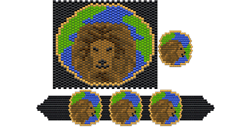 Earth Lion Set
