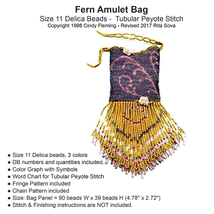 Fern Amulet Bag