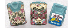 Listerine Breath Freshener Beaded Cover #2