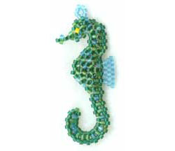 Luis the first 3D Seahorse