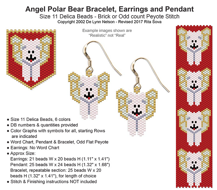 Angel Polar Earring