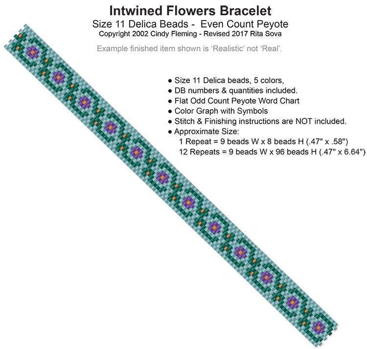 Entwined Flowers Bracelet