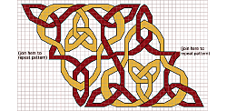 Triangle Knot Border