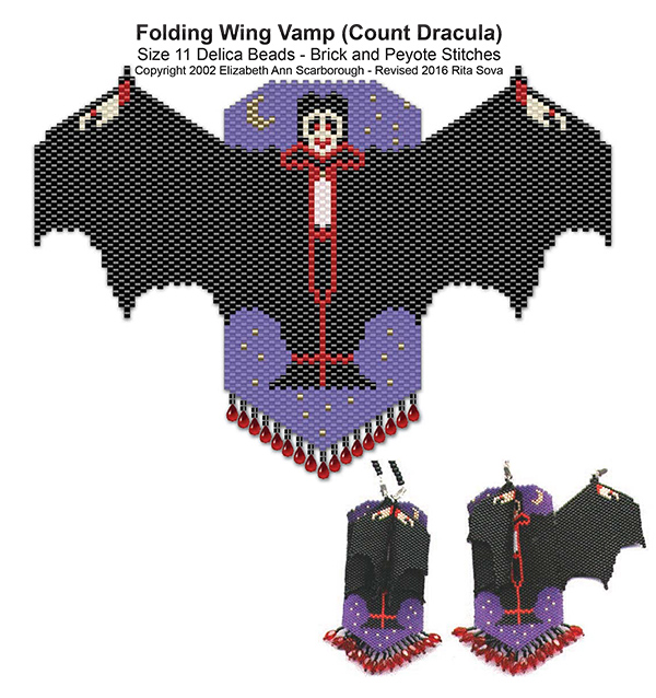 Folding Wing Vamp (Count Dracula)