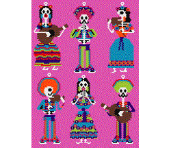 Day of the Dead Mix and Match Mariachis