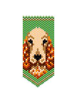 Cocker Spaniel Panel Pin