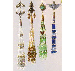 Charming Beaded Tassel Ornaments set #1