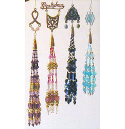 Charming Beaded Tassel Ornaments Set #2