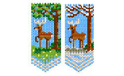 Seasonal Buck / Deer panels