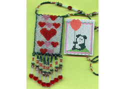 Valentine Double-The-Wear Amulet Pouch