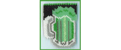 Green Beer Pin