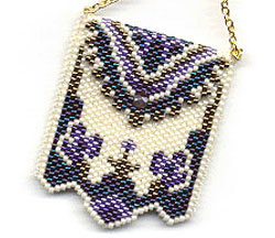 Peyote Purse Necklace