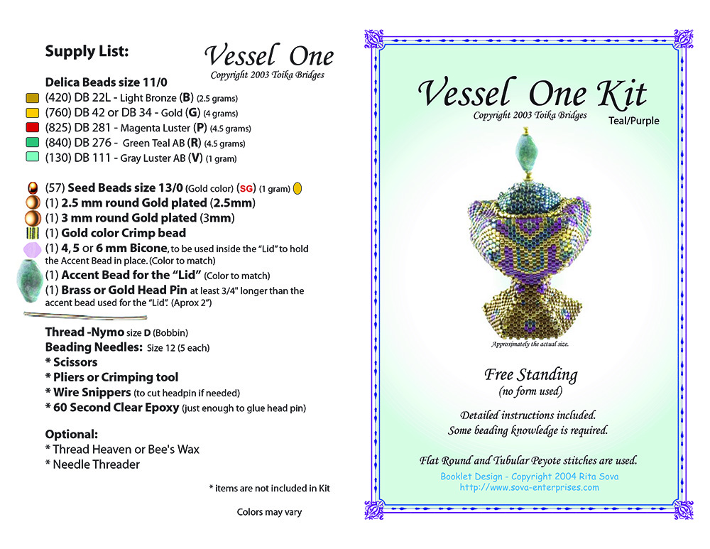 Vessel One Kit (Teal/Purple)