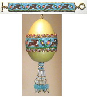 Rabbit Run Bracelet and Egg