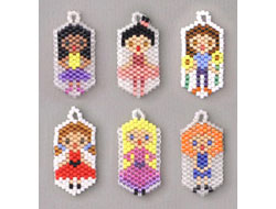 Charm Girls set 1