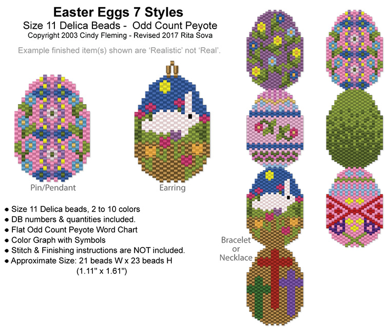 Easter Eggs 7 Styles