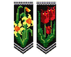 Daffodils & Tulips Flower Panels
