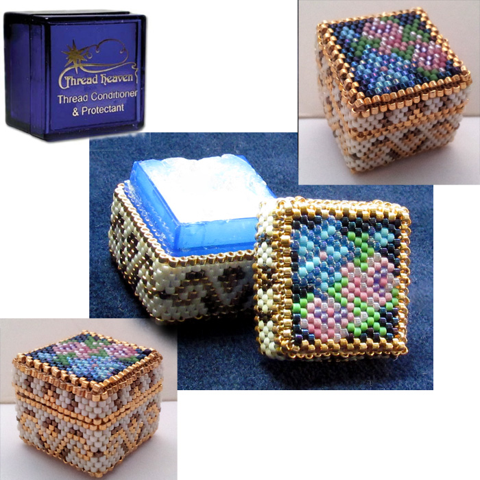 Beaded Cover for Thread Heaven Box