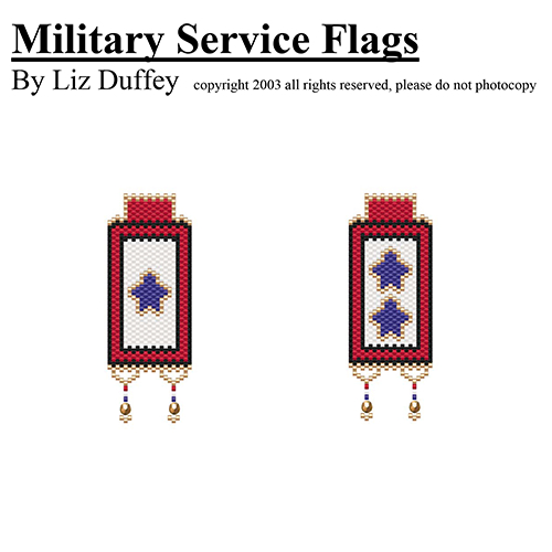 MILITARY SERVICE BANNERS