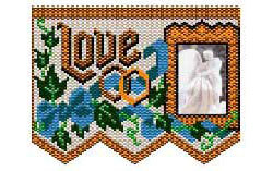 Love Wedding Picture Frame Panel