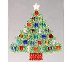 Netted Christmas Tree Ornament