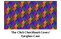 Click Checkbook Cover/Eyeglass Case