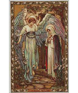 The Annunciation - Large Print
