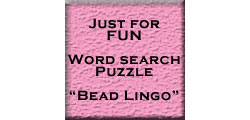 Word Search Puzzle # 1