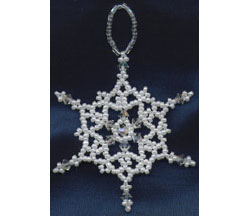 Snowflake Ornament #1