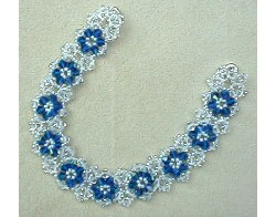Jiffy Triangle-Weave Crystal Bracelet