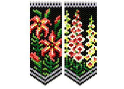 Asiatic Lily & Foxglove Flower Panels