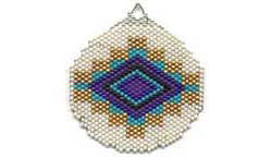 SANTA FE BLANKET ORNAMENT / SUNCATCHER