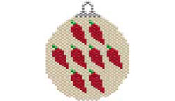 LOTS O' CHILES SOUTHWEST STYLE ORNAMENT / SUNCATCHER