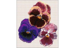 Pansies Tapestry