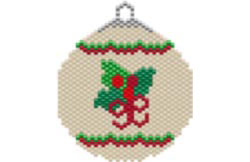 HOLLY HOLIDAY ORNAMENT / SUNCATCHER
