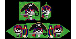 Day of the Dead Pirates Set