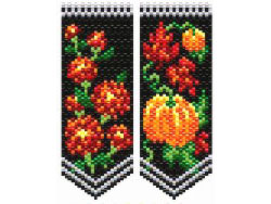 Mums & Pumpkins Flower Panels